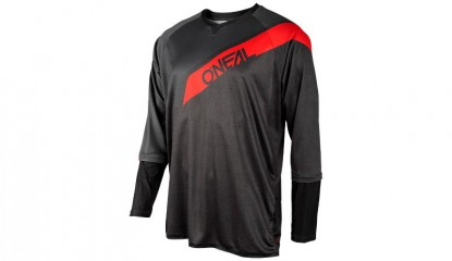Stormrider Jersey Men black/red/gray L